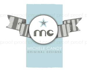 Michele Candy | custom logo | by Erika Jessop