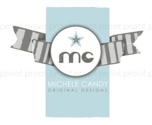 Michele Candy | custom logo | by Erika Jessop