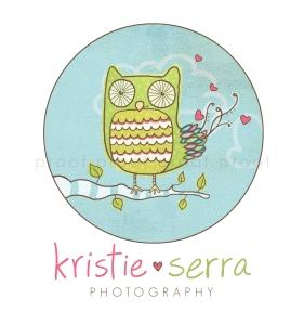 Kristie Serra | custom logo | by Erika Jessop