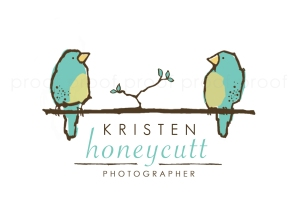Kristen Honeycutt | custom logo | by Erika Jessop