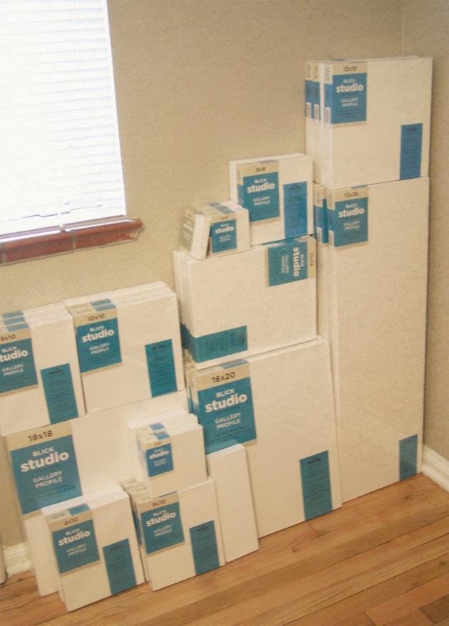 my canvas inventory