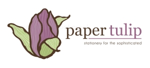 Paper Tulip | custom logo | by Erika Jessop