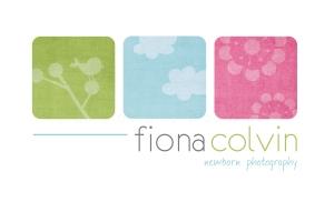 fiona colvin | custom logo | by Erika Jessop