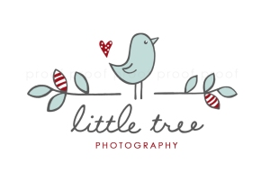 little tree | custom logo | by Erika Jessop
