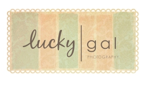 lucky | custom logo | by Erika Jessop