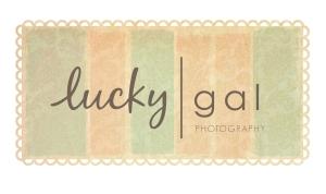 lucky | custom logo | by Erika Jessop