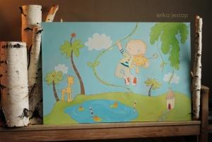 """Jungle Boy"" by Erika Jessop"