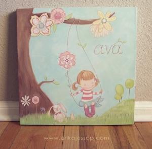 """Miss Ava"" by Erika Jessop"