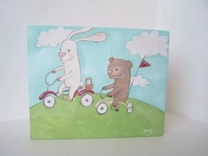 """Fun on Bikes"" by Erika Jessop"