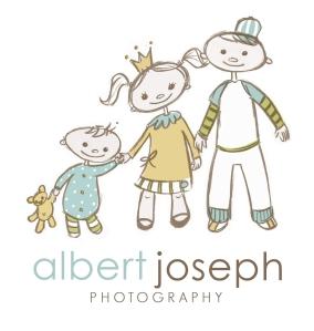 albert joseph | custom logo | by Erika Jessop