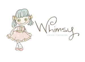 Whimsy | custom logo | by Erika Jessop